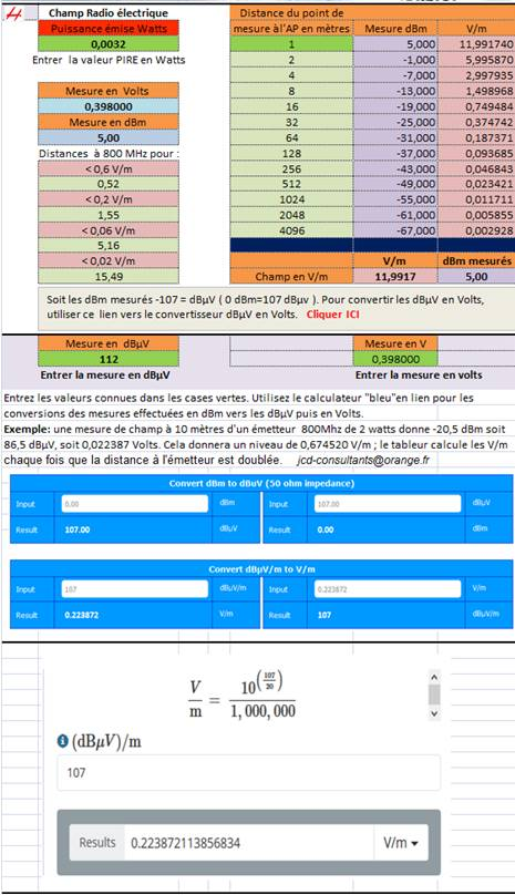 Calculateur_convertisseur_dBm_vers_V-m
