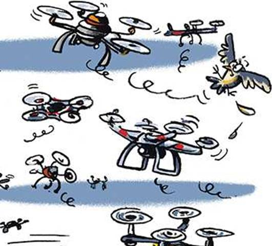 constellation de drones